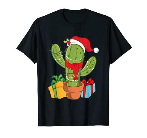 Cactus - Árbol de Navidad Camiseta