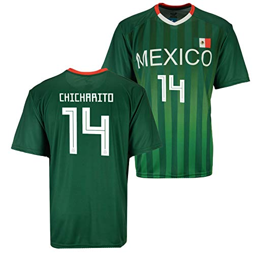 OnTheField Chicharito Mexico National Team Fan Jersey (Large)