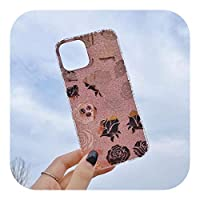 Latest Luxury Square Gold Powder s Glitter Soft Phone Case For iPhone 12 Mini 11 Pro Max X XR XS MAX SE 2020 7 8 Plus Back Cover-Style 6-For iPhone 8 plus