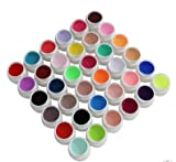 Rodman Conjunto de Gel UV 24 Colores Gel UV Esmalte de Uñas Gel de Inmersión Barniz Tinta Gel UV Esmalte de Uñas Laca Consejos Para el Arte de Uñas Extensión Manicura
