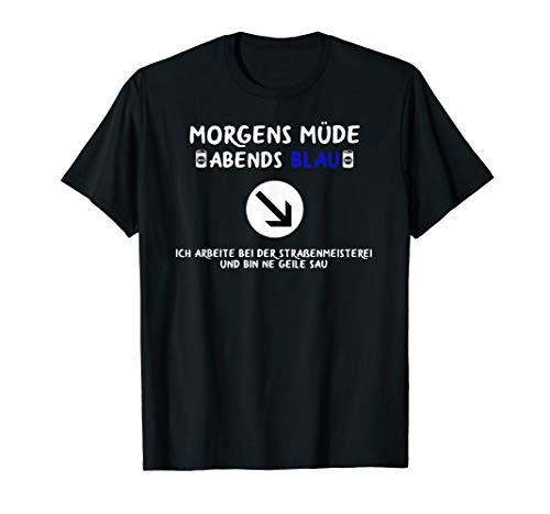 Straßenmeisterei Bekleidung für Straßenwärter und Bauhof T-Shirt