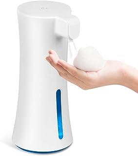 【2020年改良版】 ソープディスペンサー 泡 自動 400ML大容量 ワイヤレス電池式 ハンドソープディスペンサー 泡 おしゃれ 触ずに手を洗い 衛生管理 誤動作なし 手洗いの強化用 多種洗剤対応 耐久性抜群 日本語説明書付き