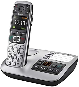 Gigaset E560A Premium Big Button Phone for Seniors Cordless Phone with Answering Machine and product image