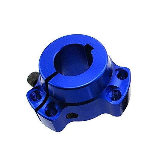 SSGLOVELIN Racing 1' 25 mm de la Rueda Trasera concentradores en Forma for el Circuito de Karts de Drift Trike (Color : Blue)