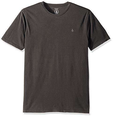 Volcom Tee Shirt Solid Stone Embossed Noir (S, Noir)