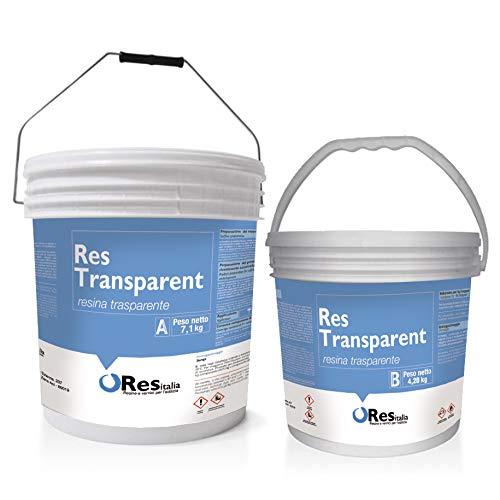 REES TRANSPARENT Epoxidharz transparent selbstnivellierend, einfache Anwendung wie Kunstwerke, Schmuck, Holzmöbel, Schmuck, Böden