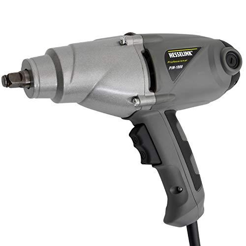 Hesselink® PIW-1000 I Elektro-Schlagschrauber I 230V I Profi-Schrauber für Reifenwechsel und mehr I überall dort einsetzbar, wo keine Druckluft vorhanden ist