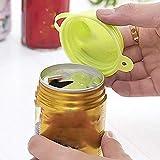 Behavetw, 2 tappi per bottiglie riutilizzabili, non tossici ed ecologici, a tenuta stagna, per campeggio, bevande, dispositivo di tenuta portatile (casuale)
