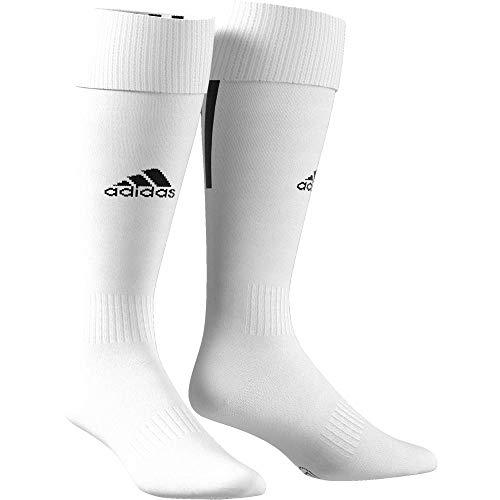 adidas Santos 18, Calzini Unisex – Adulto, White/Black, 3133
