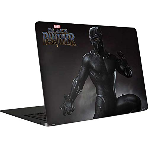 Skinit Decal Laptop Skin Compatible with MacBook Air 13in (2020) - Officially Licensed Marvel Black Panther Ready for Battle Design