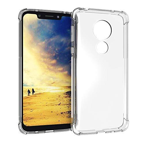 "Capa Anti Shock Motorola Moto G7 Power 6.2"" 2019, Cell Case, Capa Anti-Impacto, Transparente"