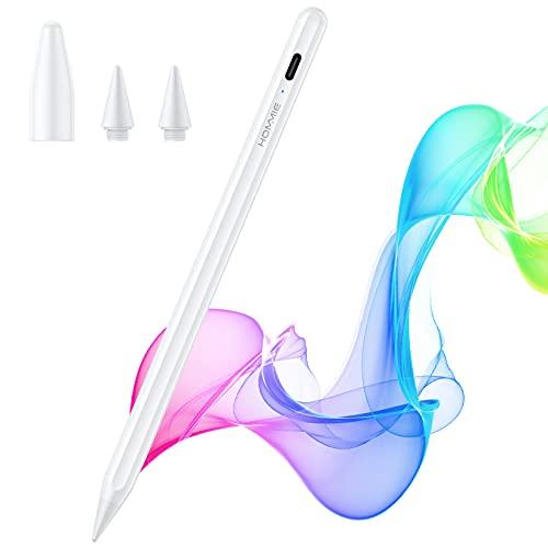 Penna Ipad Magnetica con 1.0mm Nitido, Ipad Pencil Prima Seconda Generazione Touch-Proof per Penna Ipad 8 7 6, Ipad air 3;4, IPad Mini 5, Ipad Pro 2020 (11;12.9); Ipad 2018;2019;2020; con due punte.