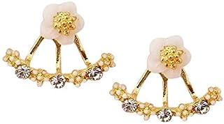 Jewelry Women Flower Fashion Earring Jackets