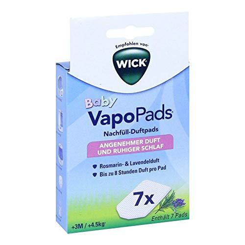 WICK VapoPads Baby Nachfüll-Duftpads Angenehmer Duft und ruhiger Schlaf, 1 St. Packung