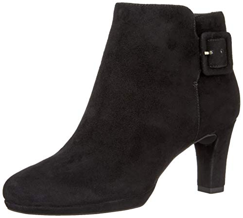 Rockport Womens Total Motion Leah Leather Heel Ankle Boots