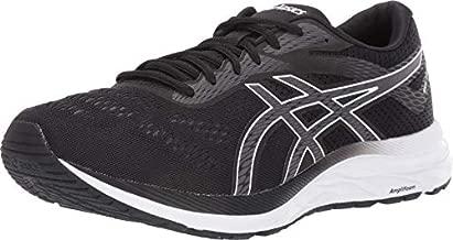 ASICS Men's Gel-Excite 6 Running Shoes, 12, Black/White