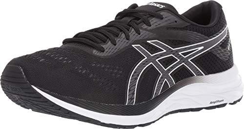 ASICS Men's Gel-Excite 6 Running Shoes, 10M, Black/White