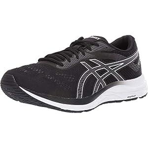 ASICS Men's Gel-Excite 6 Running Shoes, 10, Black/White
