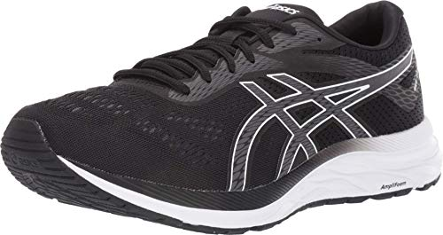 ASICS Men's Gel-Excite 6 Running Shoes, 10M, Black/White