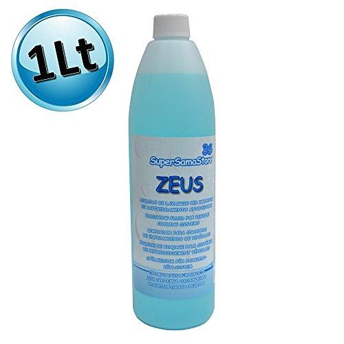 Liquido di lavaggio per impianti raffreddamento autoveicoli - ZEUS flacone 1 LT