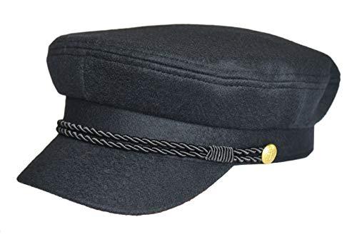 MADSea Elbsegler Gold Edition Tuch Schirmkappe Schirmmütze Hut, Farbe:dunkelblau, Größe:S