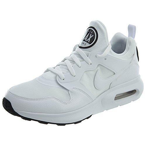 Nike Air Max Prime, Scarpe Running Uomo, Bianco (White/White/Pure Platinum/Black 100), 43 EU