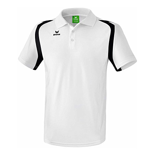erima Herren Razor 2.0 Poloshirt, Weiß/Schwarz, XL