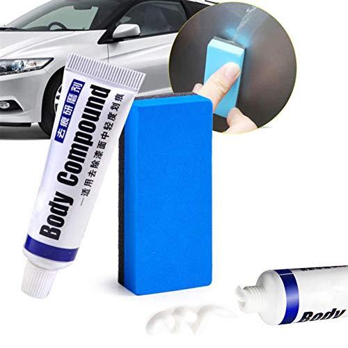 Multipurpose Car Scratches Repair Wax, Car Scratch Removal Kit, Auto Paint Scratch Repair Remover, Car Body Compound Paste Set, Easily Repair Paint Scratches, Scratches, Water Spots