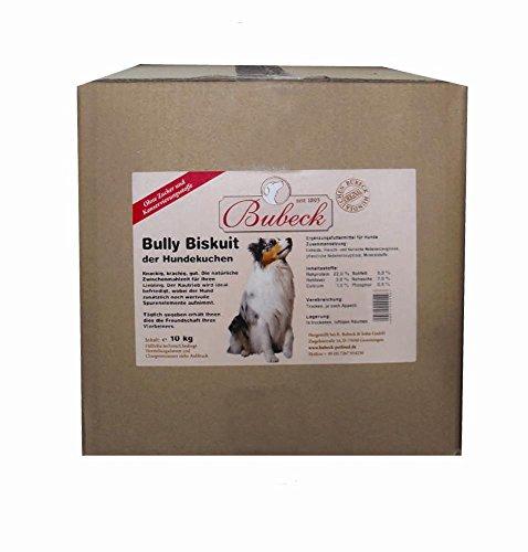 Bubeck Bully Hunde Biskuit Hundekuchen Zahnfplege 10 kg