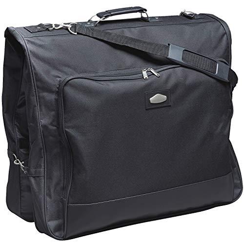 Borsa porta abiti da viaggio - Custodia per abiti tasca del vestito poliestere nero xxl