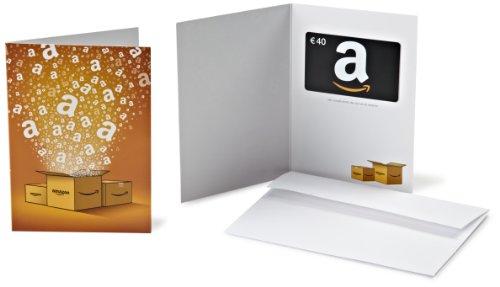 Tarjeta Regalo Amazon.es - €40 (Tarjeta de felicitación Amazon)