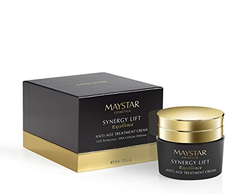 MAYSTAR - SYNERGY LIFT Excellence Anti-age Treatment Cream. Crema lifting antiedad. Efecto lifting inmediato y duradero. 50 ml.