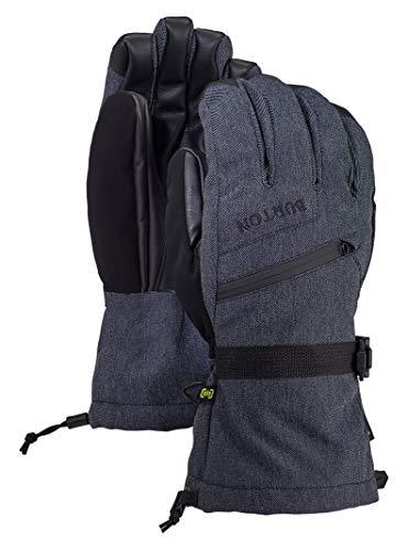 Burton Mens Gore-Tex Snowboarding Gloves, Denim New