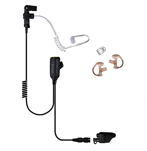 Tactical Ear Gadgets EP1328QR Hawk Lapel Mic with Quick Release for Harris Unity XG25 XG75 P5300 P7300