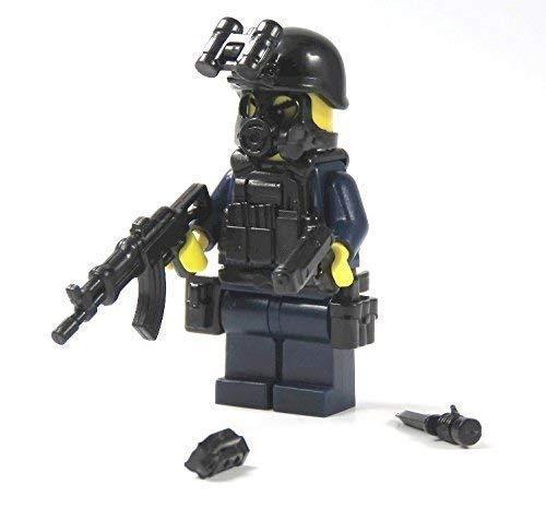 Polizei Figuren SWAT Spezialeinheit aus Lego ® Teilen mit Custom Zubehör Polizist