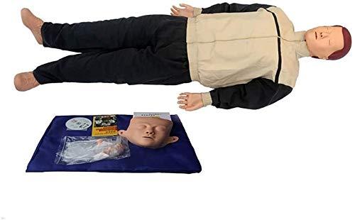 Cuerpo Carrocería Cardiopulmonar Simulador Simulador Artificial Respiración CPR PRIMEROS AUXILIOS Capacitación de capacitación Manikin for la enseñanza Resucitación Manikins Modelo de entrenamiento 11