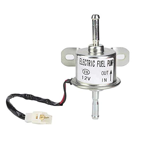 Pompa di alimentazione carburante elettrica - 12V esterno resistente all\'usura 129612-52100 per Ya-nmar 4TNV88 3TNV88-NHB NHBB