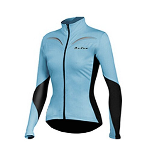 Uglyfrog LJW04 2019 Neue Winter Jersey MTB Thermisches Fahrradtrikot Vlies Thermo Langarm Shirt Damen Breathable Radfahren Fahrrad Lange Hülsen Fahrrad Hemd Frauen Langarm Fahrradbekleidung Radfahren