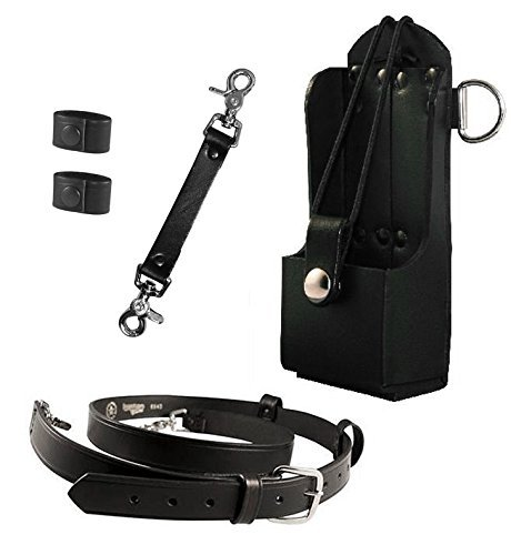 Boston Leather - Bundle Three Items, Anti-sway Strap for Radio Strap