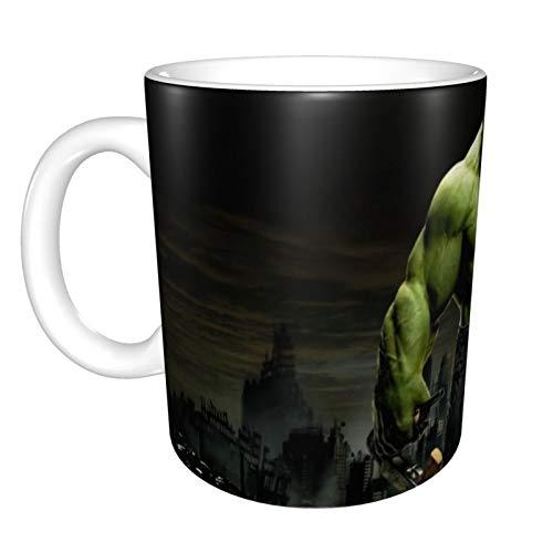Hochwertige Tasse von Hulk, lustige Kaffeetasse, Geschenk für Mama, Papa, Kinder oder Mädchen