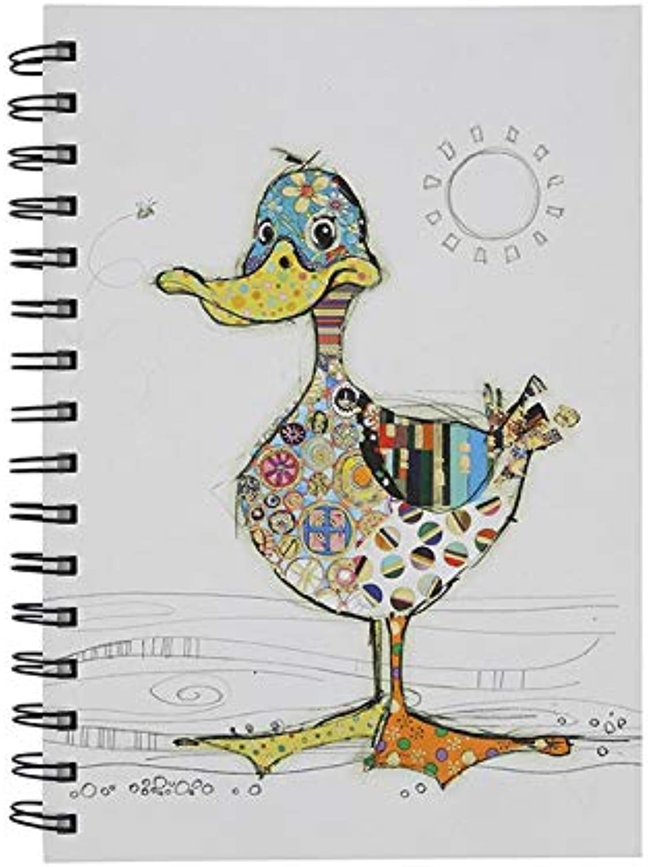 Kooks Dotty Duck Design A6 Notebook by Bug Art B07KXKQS6Z   Outlet Store Online