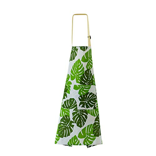 Avental Blusea com bolso conveniente, avental de cozinha à prova d'água, avental ajustável e durável para cozinheiro, acessórios femininos e masculinos
