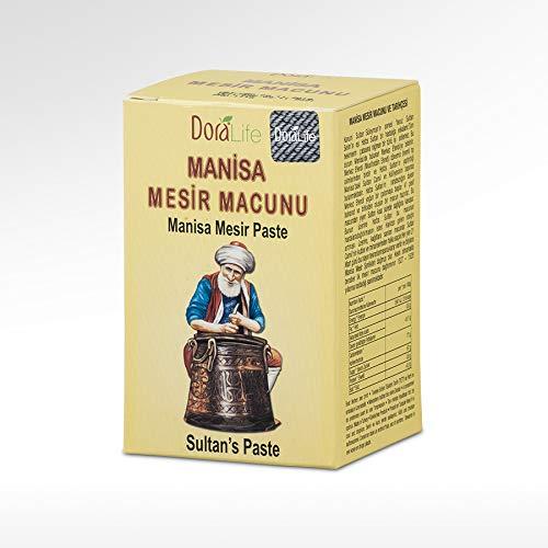 Manisa Mesir Paste Herbal Ottoman Health Aphrodisiac Paste Mesir Macunu 230 Gr.