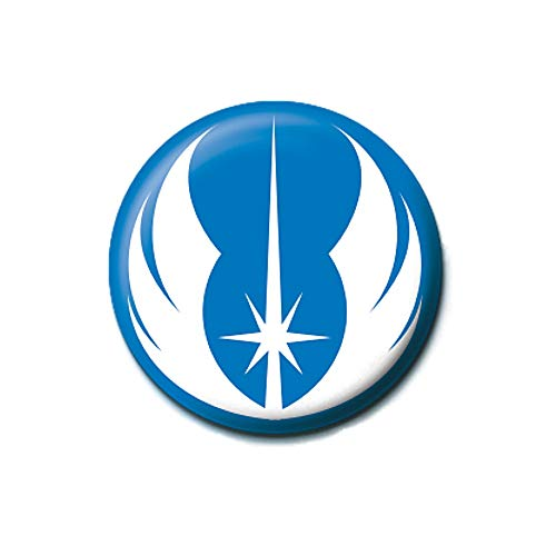 Original Star Wars Jedi Orden Symbol Button Badge Pin Badge Anstecker