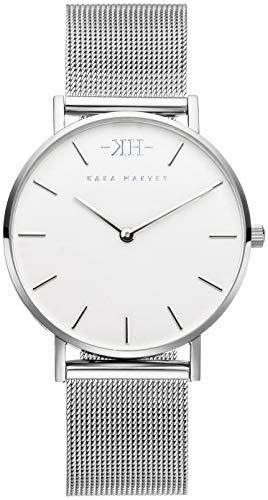 Kara Harvey Damen-Armbanduhr Silber Mesh in 36mm und 32mm Diverse...