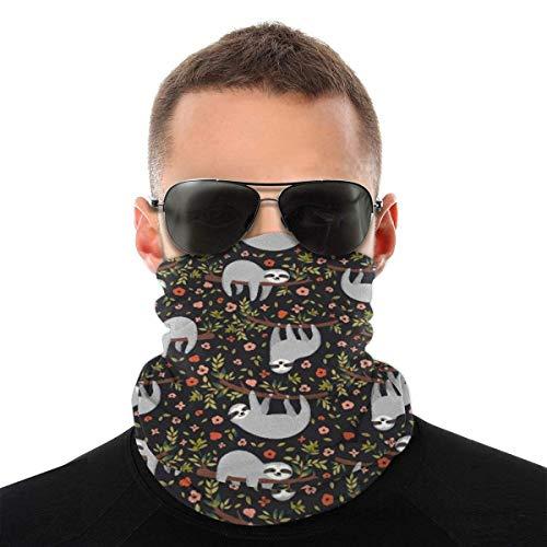 LENGDANU Pañuelo para hombre y mujer, multifuncional para la cabeza, bufanda para cuello, pasamontañas, Color: 5, M