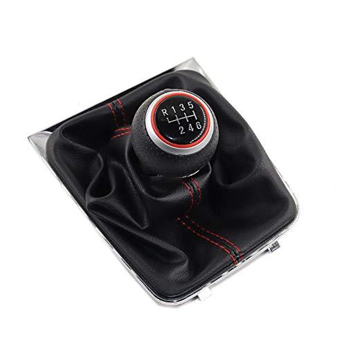 KdfDNE 5 6-Gang-Schalthebel für Auto-Schalthebel Kofferraumabdeckung Griffgehäuse, für Volkswagen Golf 7 MK7 GTI GTD 2013-2018