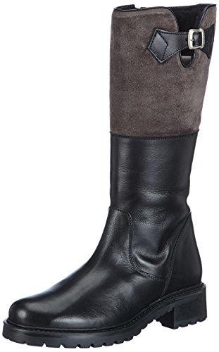 Diavolezza DODIE, Damen Halbschaft Stiefel - Schwarz (Black), 39 EU (9 Damen UK)