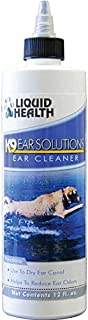 Liquid Health for Animals K9 Ear Solutions 12 oz Liquid