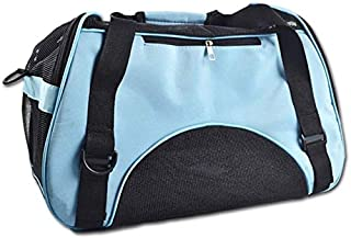 MAOSHE Pet Bag, Breathable Fashion Dog Bag Carring Bags for Dogs Dog Carrier Dog Bags Travel Pet Corduroy Colorful Cat Car...